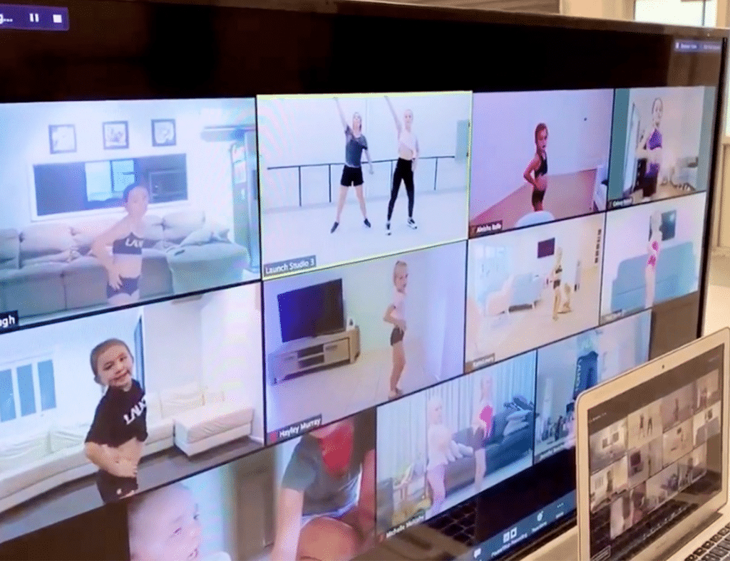 dance online covid-19
